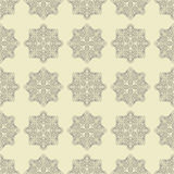 Hand drawn seamless pattern with mandalas  Eps 10 design Royalty Free Stock Photography