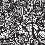 Hand-drawn seamless pattern Royalty Free Stock Image
