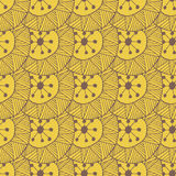 Hand drawn seamless pattern with triangles and lines Royalty Free Stock Photos