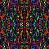 Hand drawn seamless pattern Stock Photography
