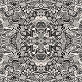 Hand drawn seamless pattern Royalty Free Stock Photography