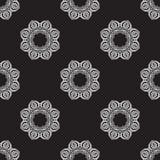 Hand drawn seamless pattern. Royalty Free Stock Photo