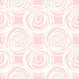 Hand drawn seamless pink scribble swirl texture Royalty Free Stock Photography