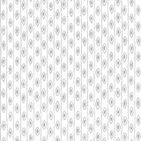 Hand drawn seamless retro wallpaper pattern Royalty Free Stock Images
