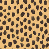 Hand drawn seamless stylized animal skin pattern Stock Photo