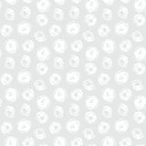 Hand drawn seamless texture with brushed dots Stock Photo