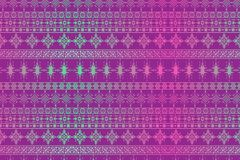 Hand drawn seamless tribal patter with gradient colors.vector Illustration vector illustration