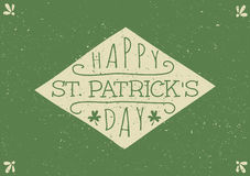 Hand Drawn St. Patrick's Day Card stock illustration