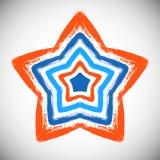 Hand Drawn Star Stock Image