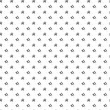 Hand Drawn Stars Seamless Pattern. Abstract doodle star pattern with hand drawn stars. Cute vector black and white star pattern. Seamless monochrome star pattern Stock Image