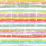 Hand drawn striped seamless pattern Royalty Free Stock Photography
