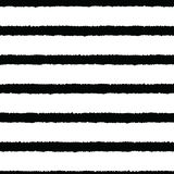 Hand drawn stripes seamless background. royalty free illustration