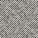 Hand drawn style ethnic seamless pattern. Abstract geometric shapes background Stock Image