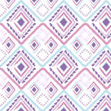 Hand drawn style tribal pastel color Royalty Free Stock Images
