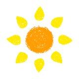 Hand Drawn Sun Stock Photos