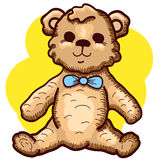 Hand drawn Teddy Bear Royalty Free Stock Photography