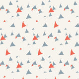 Hand drawn triangle pattern. Vector EPS of hand drawn triangle pattern Royalty Free Stock Image