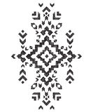 Hand drawn tribal design. Element Stock Photo