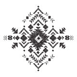 Hand drawn tribal design element Stock Photos