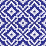 Hand drawn tribal seamless pattern. Hand drawn highly detailed tribal seamless pattern Royalty Free Stock Image