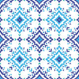 Hand drawn tribal seamless pattern. Hand drawn highly detailed tribal seamless pattern Stock Image