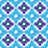 Hand drawn tribal seamless pattern Royalty Free Stock Image