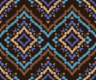 Hand drawn tribal seamless pattern Royalty Free Stock Photography