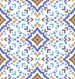 Hand drawn tribal seamless pattern. Hand drawn highly detailed tribal seamless pattern Stock Images