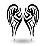 Hand Drawn Tribal Tattoo Royalty Free Stock Image