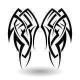 Hand Drawn Tribal Tattoo Stock Images