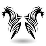 Hand Drawn Tribal Tattoo Royalty Free Stock Photo
