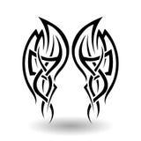 Hand Drawn Tribal Tattoo Royalty Free Stock Photography