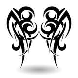 Hand Drawn Tribal Tattoo Stock Photos
