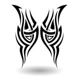 Hand Drawn Tribal Tattoo Royalty Free Stock Photo