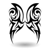 Hand Drawn Tribal Tattoo Royalty Free Stock Image