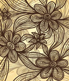 Hand Drawn vector background Royalty Free Stock Photography