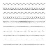 Hand drawn vector borders, design elements Stock Photos