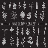 Hand Drawn Vector Decoration Collection Stock Images
