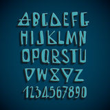 Hand Drawn Vector English Alphabet Letters Royalty Free Stock Photo