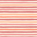 Hand drawn vector grunge stripes of warm colors pattern. Hand drawn vector grunge stripes of warm colors seamless pattern on the beige background. Texture for Stock Photos
