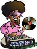 Hand-drawn Vector illustration of an Disco DJ Royalty Free Stock Photography