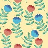 Hand drawn vector illustration. Elegant seamless pattern Royalty Free Stock Images