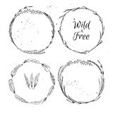 Hand drawn vector illustration.  Vintage decorative collection. Royalty Free Stock Photos