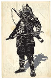 An hand drawn vector from Japan Culture - Samurai, Shogun Royalty Free Stock Photography
