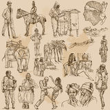 An hand drawn vector pack - PEOPLE Royalty Free Stock Photos