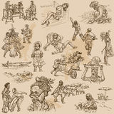 An hand drawn vector pack - PEOPLE Stock Images