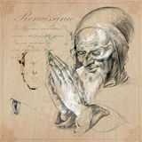 An hand drawn vector - renaissance Royalty Free Stock Photo