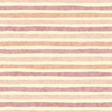 Hand drawn vector textured grunge stripes of red and orange colors seamless pattern Royalty Free Stock Image