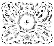Free Hand Drawn Vector Vintage Elements Royalty Free Stock Photos - 60069628