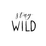 Hand drawn vector wild forest illustration Royalty Free Stock Photo
